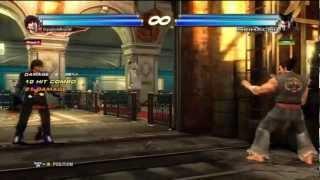 "Tekken tag tournament 2 ""mellow rage"" combo video"