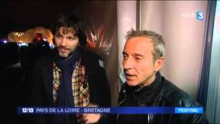 2016 - Condor Live de Caryl Ferey  avec Bertrand Cantat ( France 3 Bretagne  17 avril)