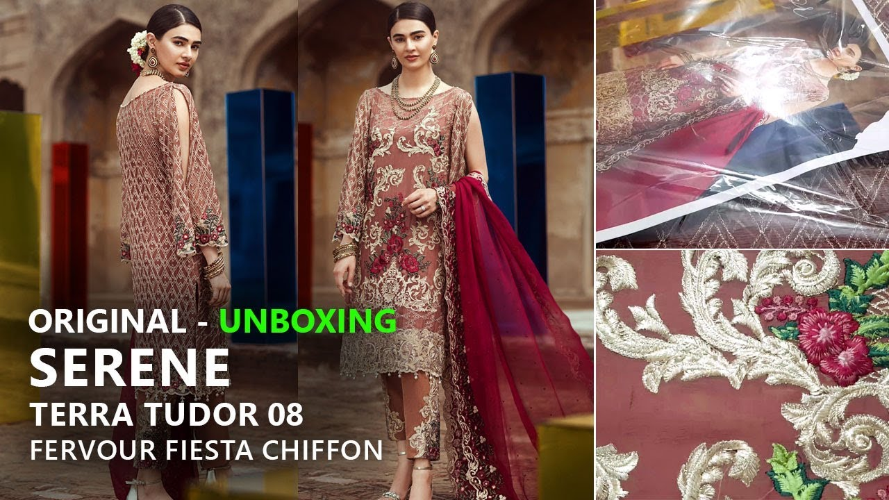 7ea3c03c6e Serene Premium Collection 2018 - Unbox 08 Terra Tudor Fervour Fiesta -  Pakistani Bridal Dresses