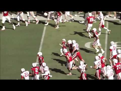 7YROLD JACK, W BRAIN CANCER, SCORES TOUCHDOWN FOR NEBR HUSKERS