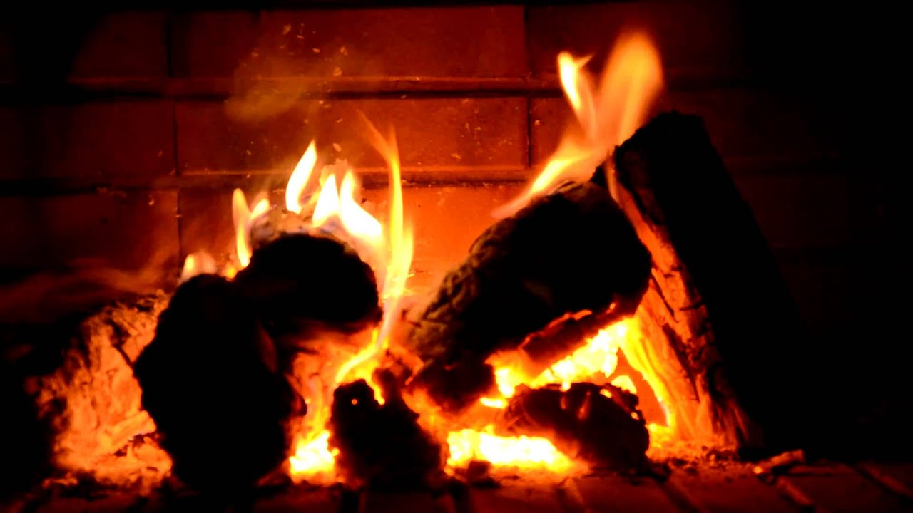 Fireplace 1920x1080 full HD Kaminfeuer - YouTube