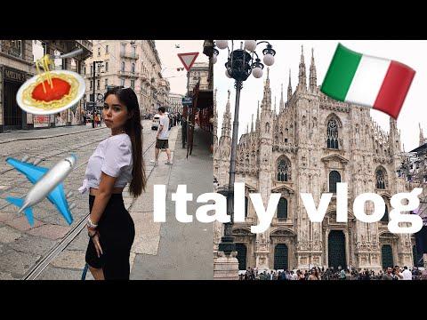 VLOG из Италии/Шоппинг в Милане