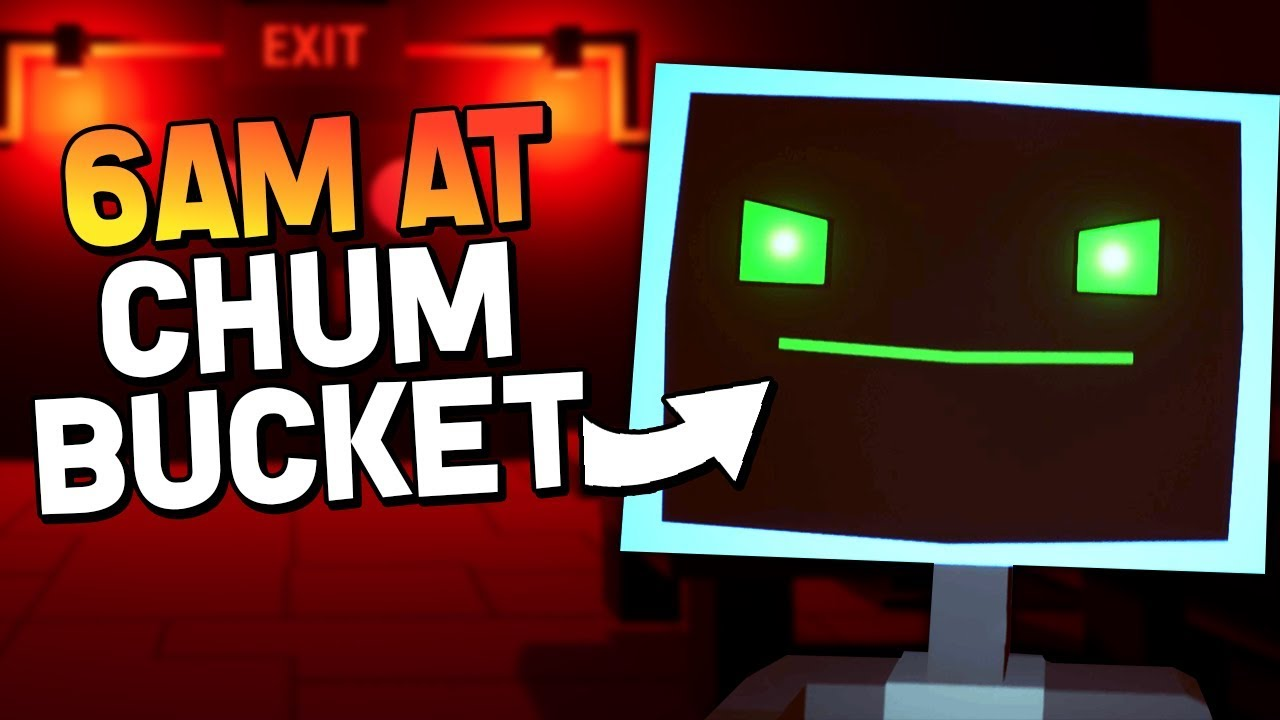We Escaped The Krusty Krab And Now This 6am At The Chum Bucket Ending Gameplay