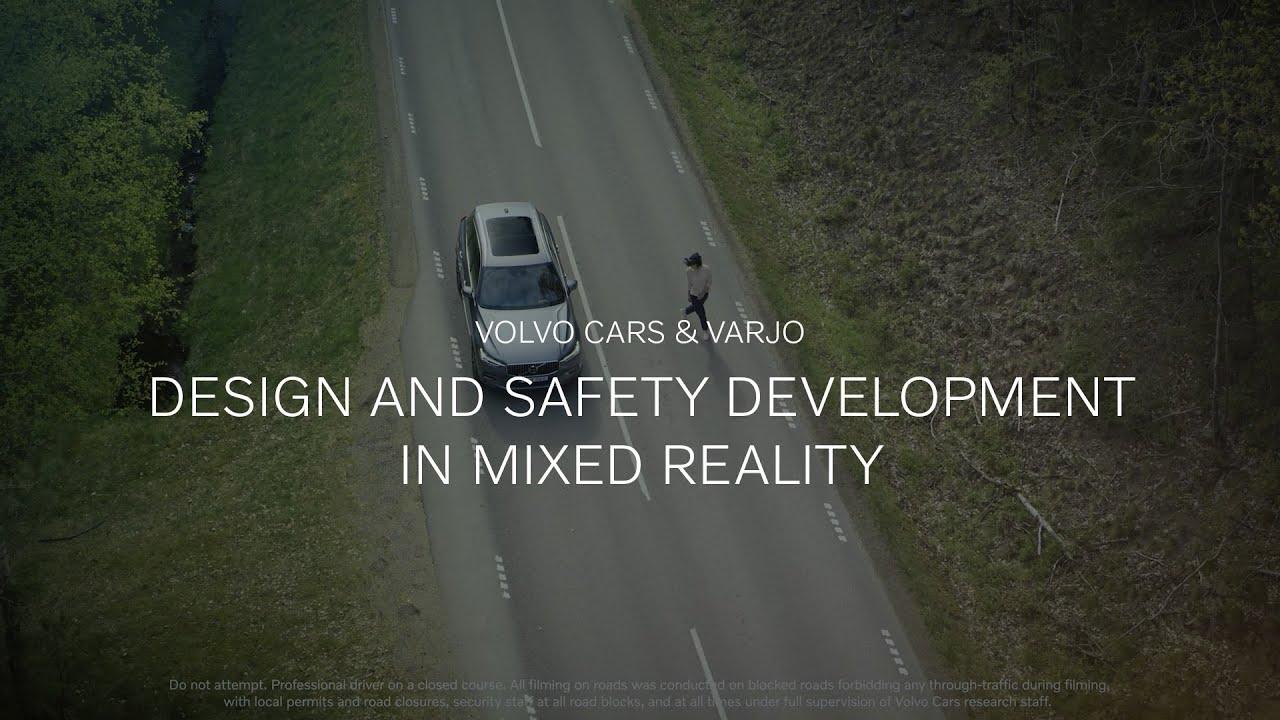 شركة فولفو للسيارات تستخدم تقنية الواقع المختلط في اختبارات السلامة