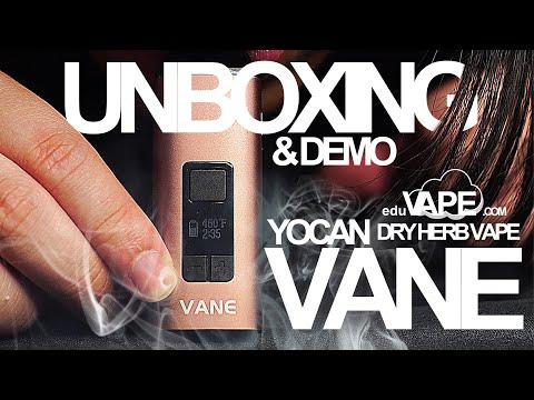 Yocan Vane Unboxing – Dry Herb Vaporizer | DEMO & First Impressions | EDUVAPE.com Edu Vape