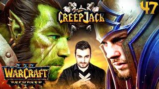 Remo vs Jannes: Warcraft Nerd-Duell | Creepjack - Warcraft 3 Reforged #47 mit Florentin & Jannes