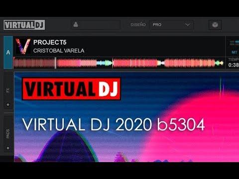 Descubre el nuevo Virtual dj 8.4 2020 version full. update b5304