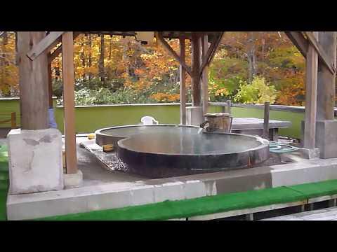 絶景温泉 紅葉の露天風呂 幕川温泉水戸屋 バカボンパパレポート