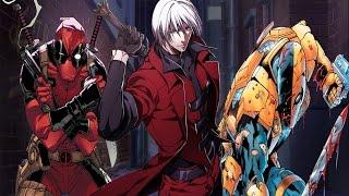 Dante vs deadpool and deathstroke