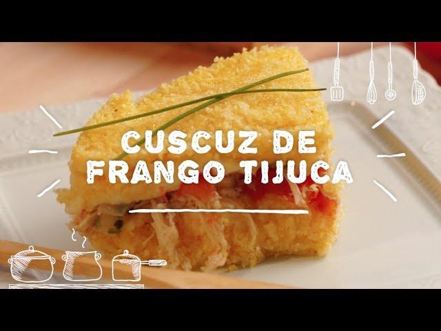 Cuscuz de Frango Tijuca - Sabor com Carinho (Tijuca Alimentos)