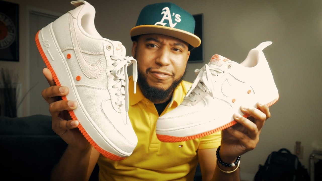 NIKE AIR FORCE ONE | CANVAS | SNEAKER REVIEW