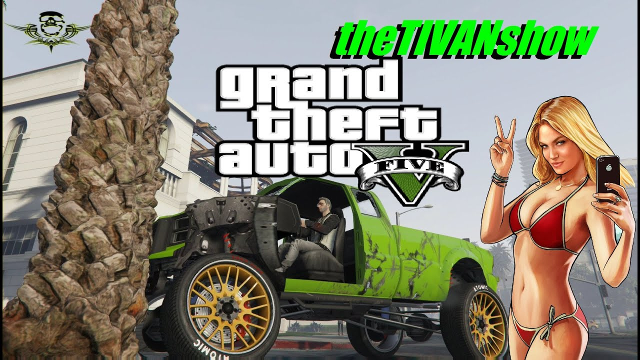 GTA5 - NO MORE TREES PLEASE - FUN WITH FRIENDS - PS4 - LIVE STREAM ON YOUTUBE
