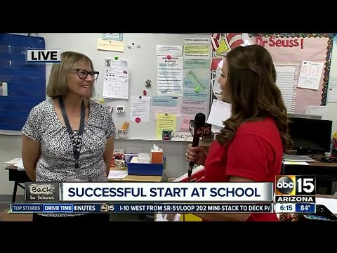 ABC15's Danielle Lerner talks with Mona Kenyon of Abraham Lincoln Traditional School