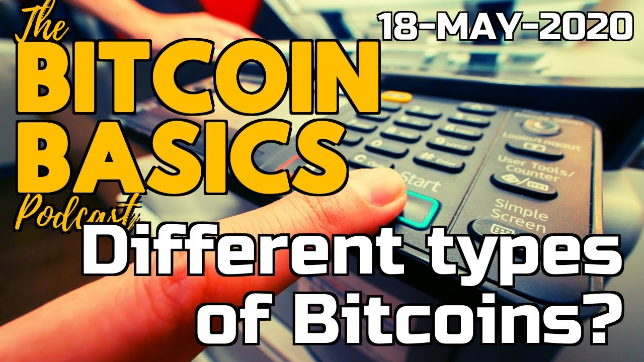 types of bitcoin