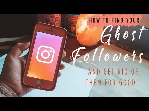 HOW TO GET RID OF GHOST FOLLOWERS ON INSTAGRAM