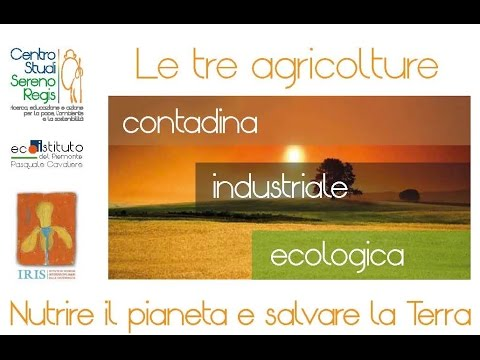 """Seminario """"Le tre agricolture"""" - Interventi di Cingolani e Barbera 01"""