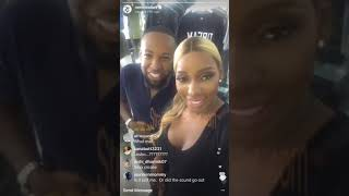 Nene Leakes and Former #RHOA Producer Carlos King Squash Beef on Instagram Live