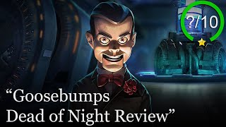 Goosebumps Dead of Night Review [PS4, Switch, Xbox One, & PC] (Video Game Video Review)