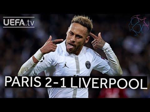 PARIS 2-1 LIVERPOOL #UCL HIGHLIGHTS