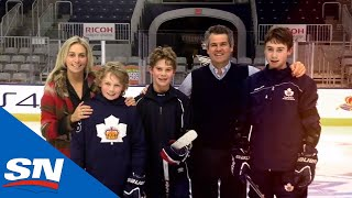 Take a look at Jack Hughes and his family, and how the probable first-overall selection at the 2019 NHL Draft grew up surrounded by hockey.