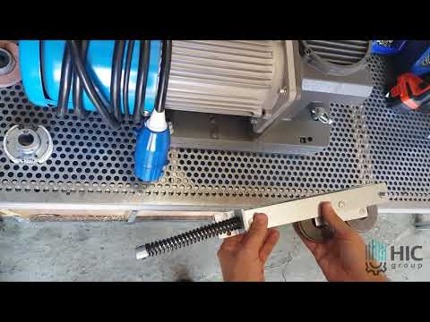 Прижимной механизм для фасадного подъемника ZLP 630