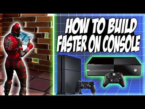 HOW TO BUILD FASTER ON CONSOLE! | Fortnite Battle Royale Tips & Tricks Ep. 1