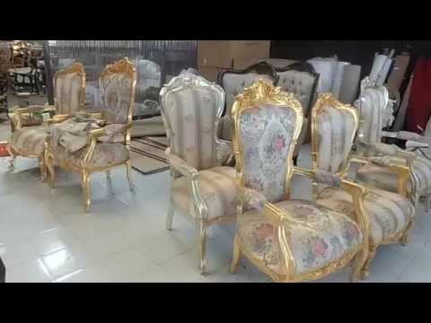 luxury classic french arm chairs