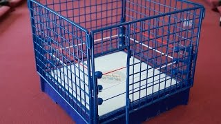 wwe classic steel cage hall of fame target exclusive playset unboxing construction review