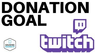 Add a Donation Goal to Your Stream in OBS Studio  Twitch Tutorial