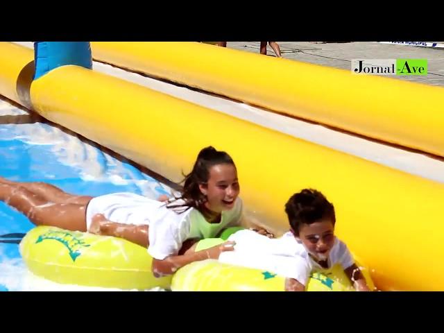 O WaterSlide Summer está de regresso a Santo Tirso