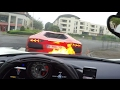 My Lamborghini Lights My Ferrari On Fire!