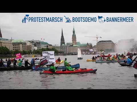 #G20Protestwelle: 25.000 Menschen demonstrieren in Hamburg für eine bessere Welt