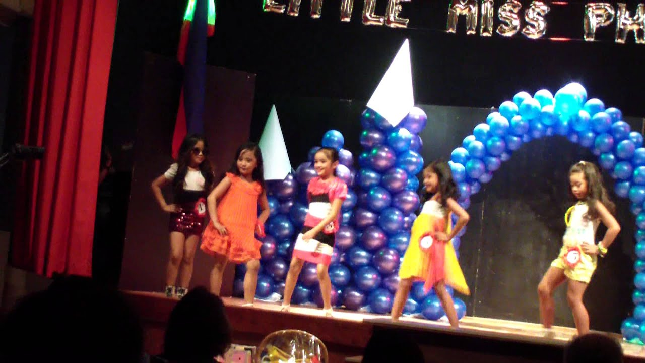 Casual Wear Little Miss Philippines 2013 - YouTube