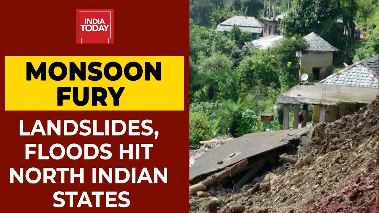 Monsoon Fury: Floods Hit Rajasthan, Madhya Pradesh, West Bengal; Landslides in Himachal, Uttarakhand