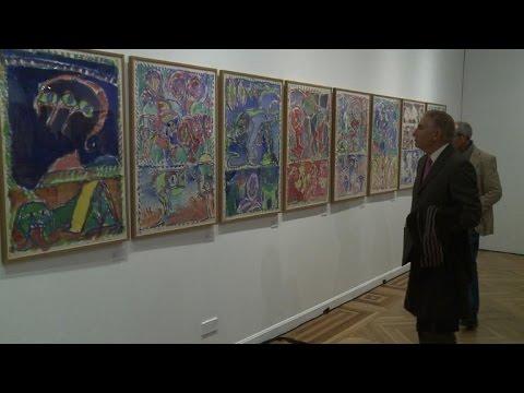 Madrid r trospective pierre alechinsky sur papier youtube for Alechinsky oeuvres