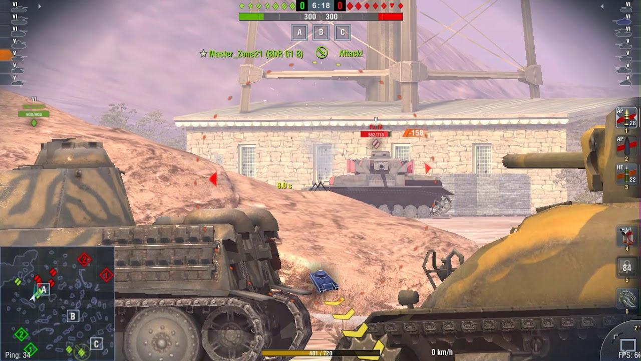 World Of Tank Blitz Type 3 Chi Nu - YouTube