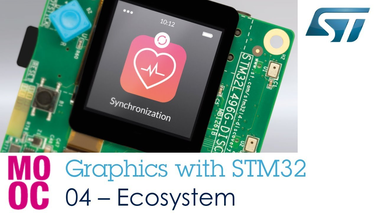 Graphics with STM32 - 4 STM32 Ecosystem for Embedded GUI