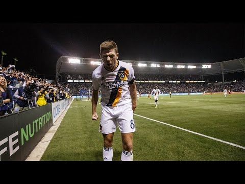 GOAL: Steven Gerrard carves up Real Salt Lake's defense