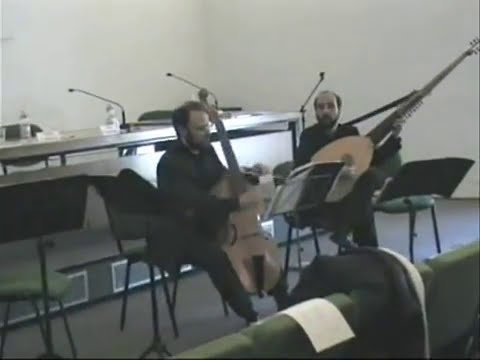 Marin Marais - Suite in La min. - Sarabande, Gavotte, Menuet e Double