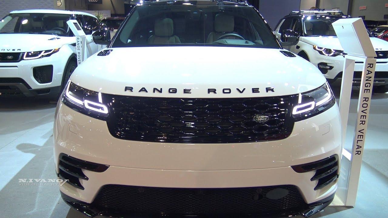 2018 Range Rover Velar P380 HSE - Exterior And Interior Walkaround - 2018 Quebec Auto Show