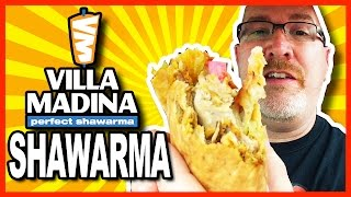 Shawarma ♥ Chicken And Beef ♥ Mediterranean Grill Review