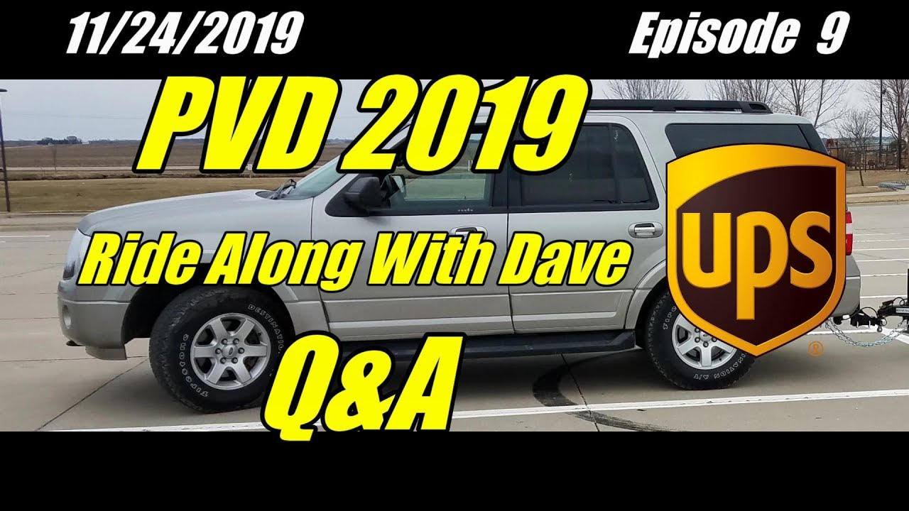 Download UPS PVD 2019 Ride Along With Dave In Central Iowa Episode 9 Q&A