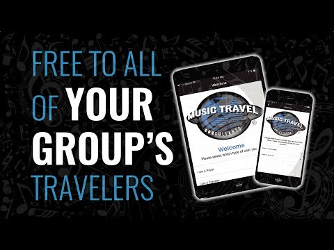 The Music Travel App