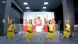 2016.4.23 12:00〜 新宿髙島屋で開催された「フラガール in 新宿髙島屋 ...