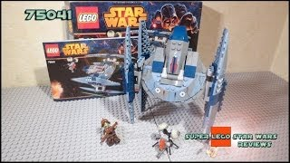 Lego Star Wars 75041 Vulture Droid Review