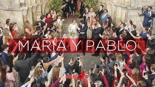 María Pombo y Pablo Castellano   Mejores momentos de la boda #ctycnwedding
