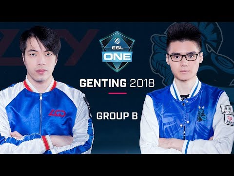 Dota 2 - LGD.Forever Young vs Newbee - Group B Opening Game - ESL One Genting 2018