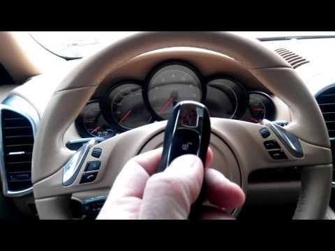 Porsche Cayenne Hybrid 3.0 2011: установка иммобилайзера StarLine I95 и замка капота