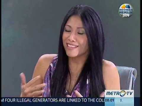 Anggun On Talk Indonesia Metro TV (Part 1)