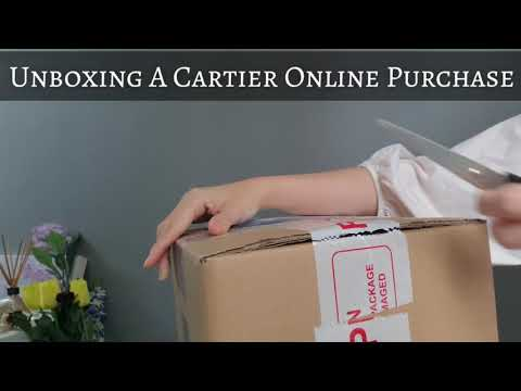 Unboxing A Cartier Online Purchase (it's Not A Watch Nor Jewelry)